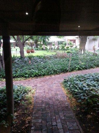 Safari Club : View from my room door.