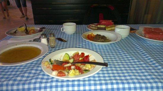 Hotel Slovenska Plaza: В ресторане