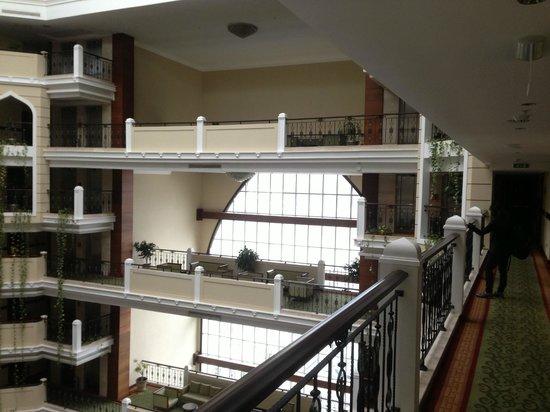 Crowne Plaza Hotel Antalya : from 7th floor inside balcony