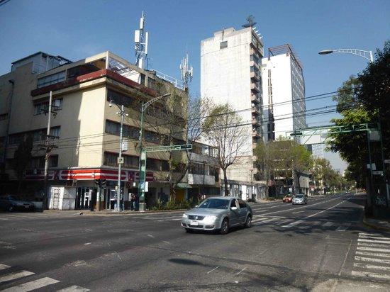 Casa Inn Mexico City: Av. Río Mississippi