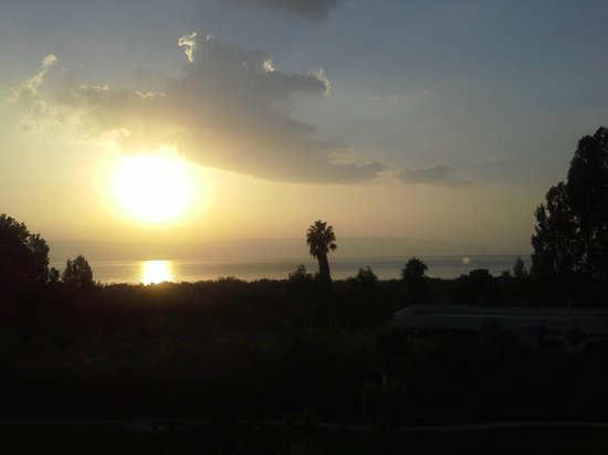 Nof Ginosar Hotel: Sea of Galilee from room