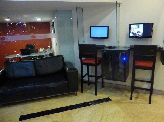 Casa Inn Mexico City: Recepción del hotel