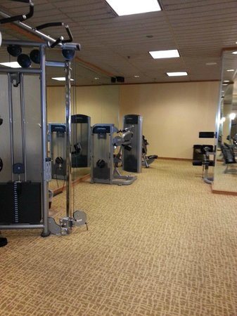 JW Marriott Houston: gym