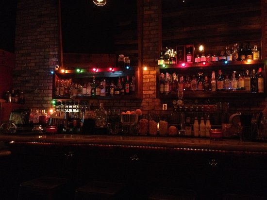 The most excellent bar at American Ale.
