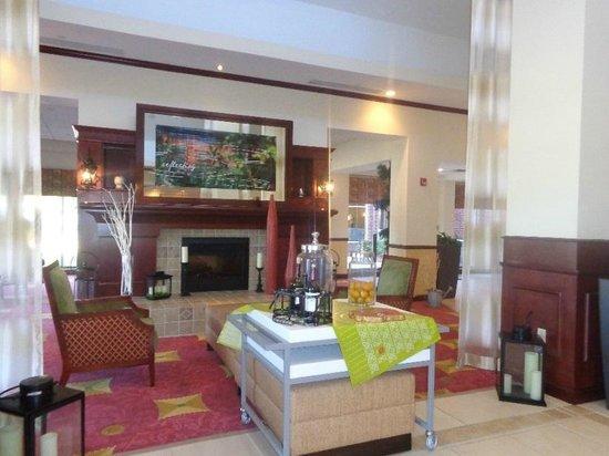Lobby Picture Of Hilton Garden Inn Starkville Starkville Tripadvisor