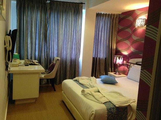 Hotel de Art: deluxe room