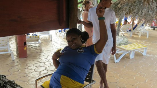 Iberostar Punta Cana: Sexy Evelyn from Star Friends
