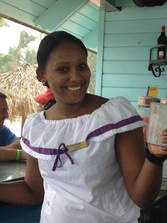 Iberostar Punta Cana: Best Bartender ever Heiddy