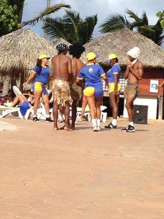 Iberostar Punta Cana: Star Friends show by the pool