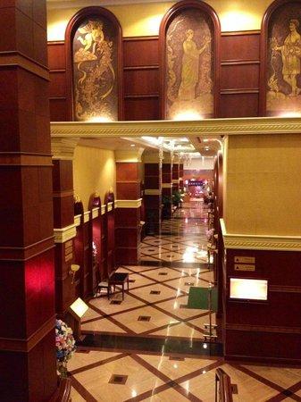Prince Palace Hotel: one of many lobbys