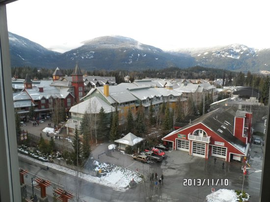 Pan Pacific Whistler Village Centre: View from the room.