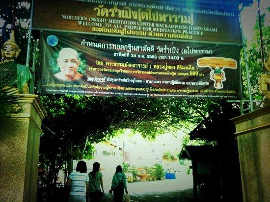 Loft Residence Chiang Mai : A temple in Chiangmai.
