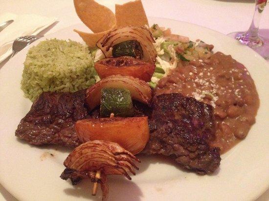 Cafe Del Sol : Hanger steak