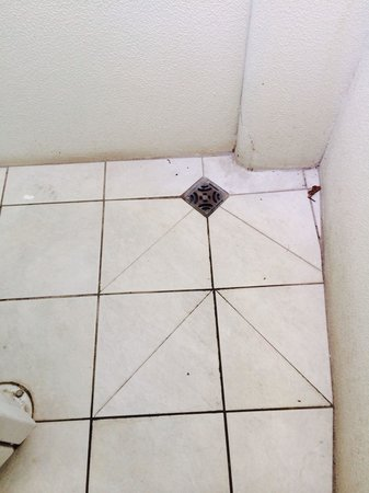 Mantra Sirocco: Dirty floors in the foyer leading to roof top