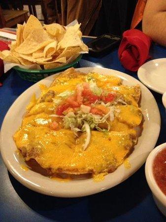 Casa Rio: nachos!