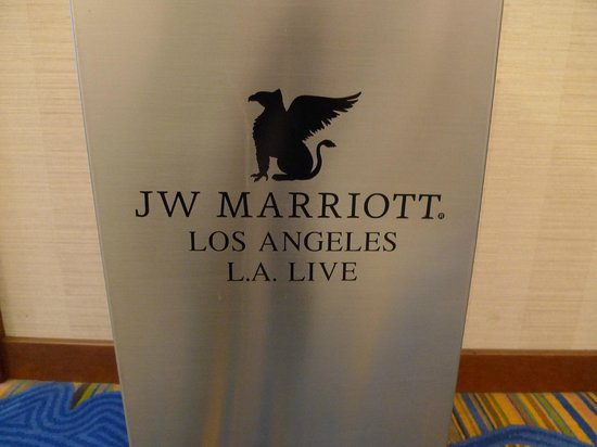 JW Marriott Los Angeles L.A. LIVE: Room