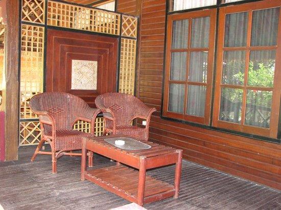 Gili Air Resort : Deck