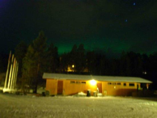 Karasjok Camping: Polar light