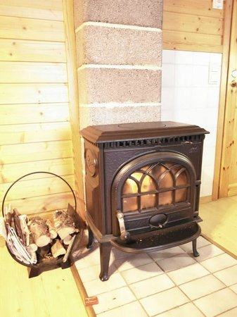 Karasjok Camping: Heater