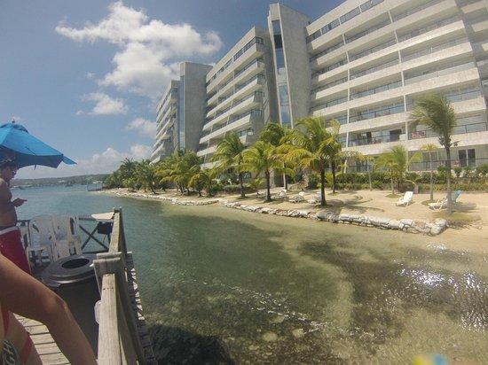 GHL Relax Hotel Sunrise: vista desde la playa