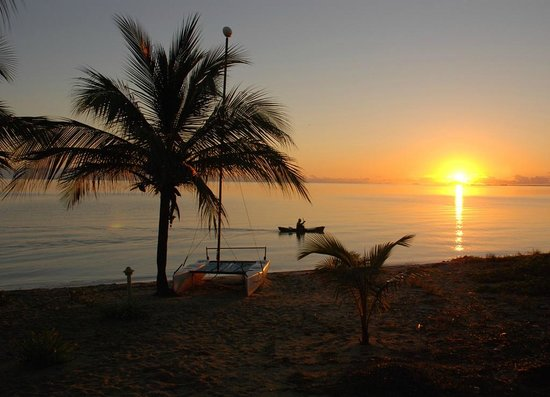 Laru Beya Resort & Villas : morning sunrise