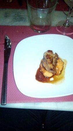 "Sesame : plato principal cena, ""secreto iberico"""