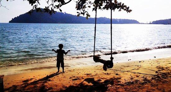 Asia Backpackers: น้องบิล กับ ทะเล กับอาทิตย์ลับคอบฟ้า