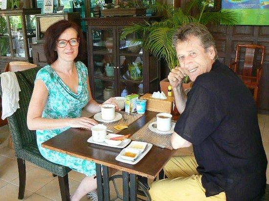 Baan Thai House : Begin van de dag met een heerlijk ontbijt