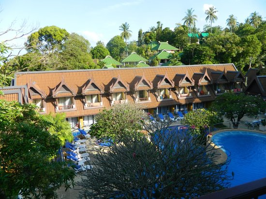 Diamond Cottage Resort & Spa: вид из окна