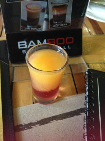Bamboo Bar & Grill : Welcome drink