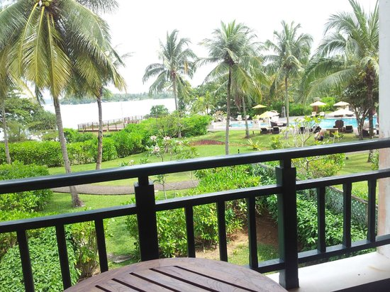 Angsana Bintan: view from balcony - beach