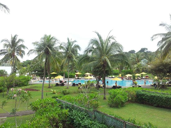 Angsana Bintan: view from balcony