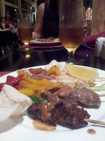 Angsana Bintan : dinner at lotus
