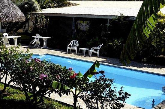 Pension de la Plage Tahiti : piscine