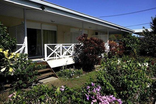Pension de la Plage Tahiti : Une chambre bungalow
