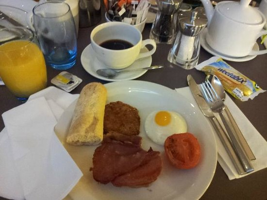 Novotel London West: colazione inglese