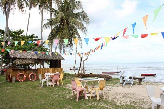 Summer Beach Lodge: Das Resort liegt direkt am Strand
