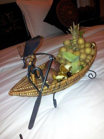 Ocean Star Resort : Приветственные фрукты