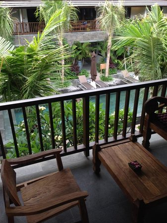 Kejora Suites : Looking out from the room