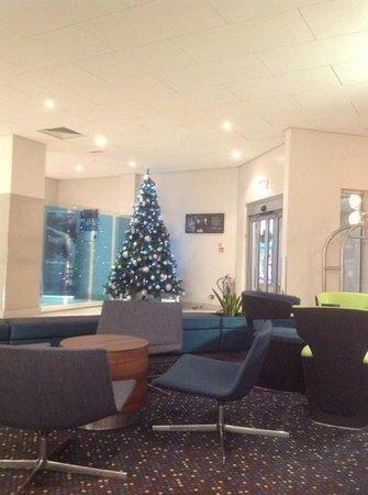 Novotel Birmingham Centre: reception