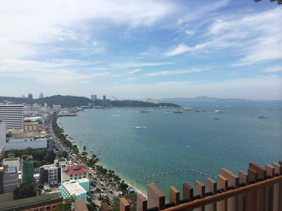 Hilton Pattaya: From Balcony
