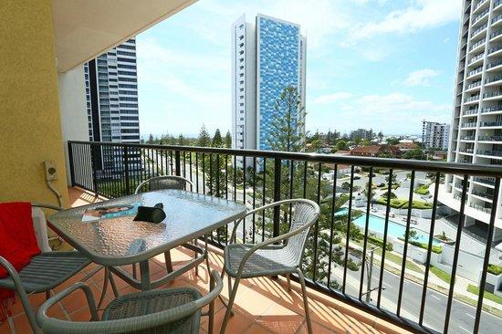 Neptune Resort: Balcony