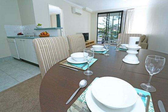 Neptune Resort: 1 Bedroom dining