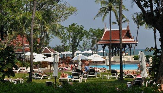 Centara Grand Beach Resort & Villas Hua Hin: View from my Room
