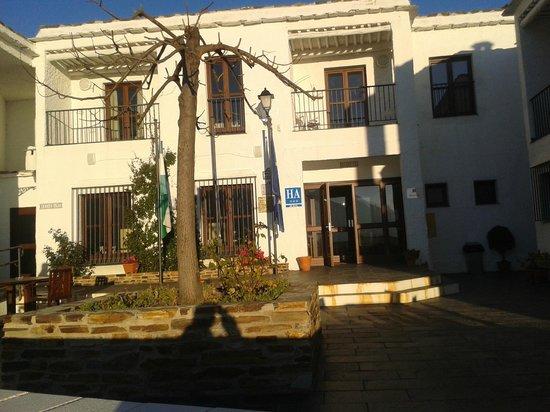 Hotel Villa de Bubion : zona recepcion