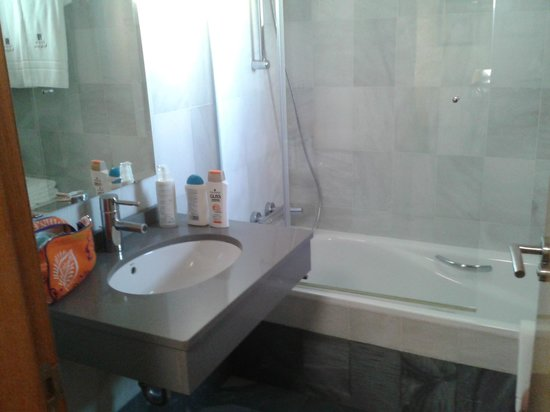 Hotel Villa de Bubion: cuarto de baño