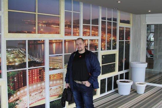 Tryp Malaga Guadalmar Hotel: В холле