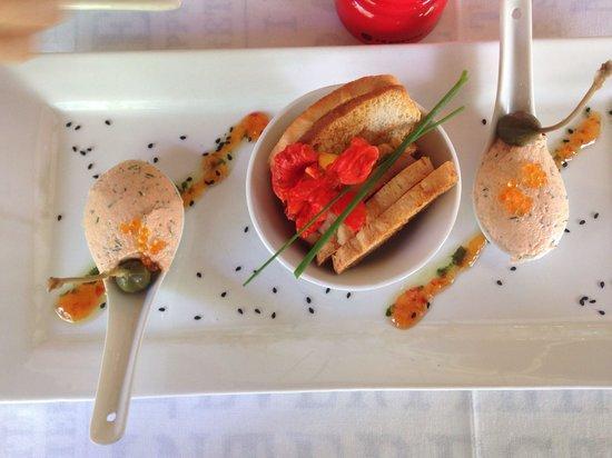 Silver Orange Bistro: Starter : salmon pate