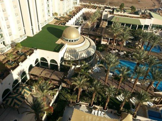 Herods Vitalis Spa Hotel Eilat: Vista desde la habitacion