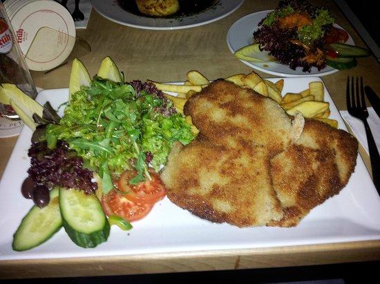 Rheinzeit: Schnitzel